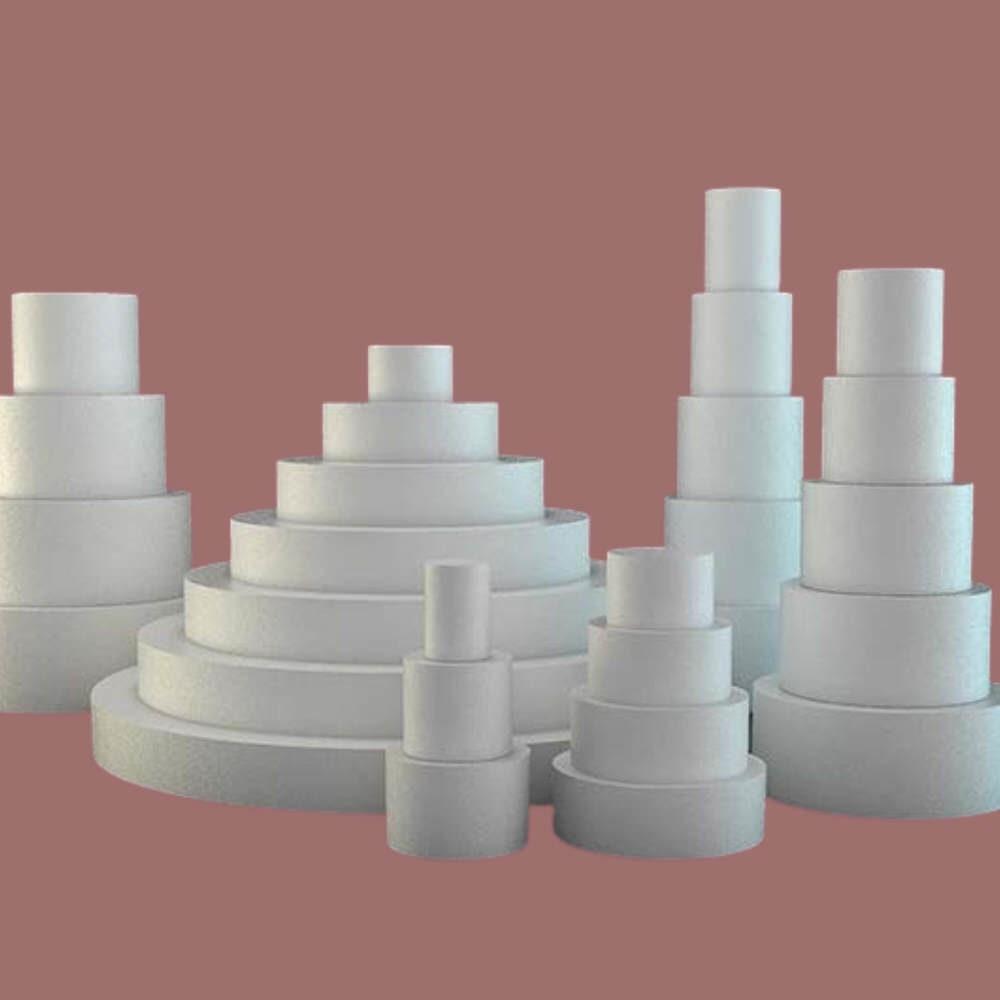 Styrofoam kökur