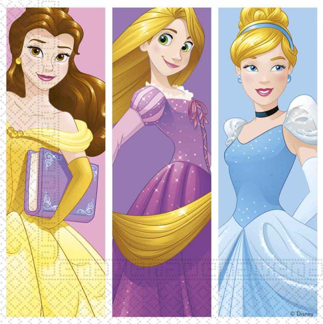 Disney prinsessur servéttur